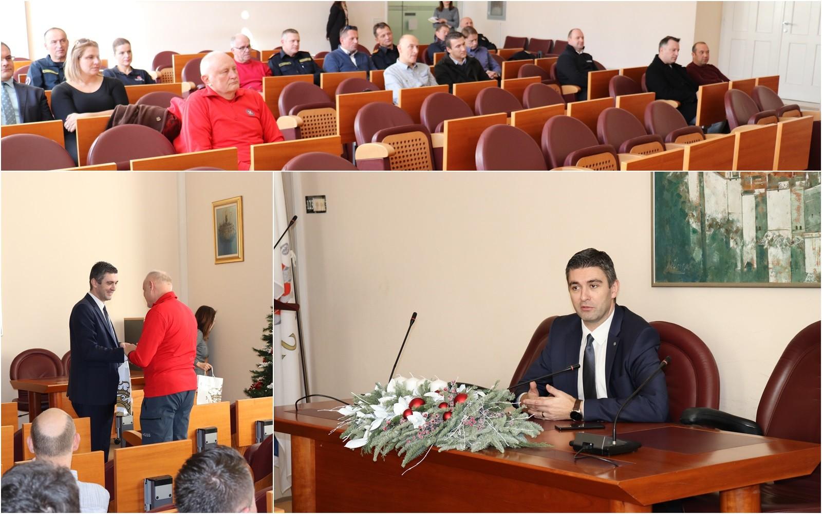 Gradonačelnik Franković primio predstavnike dežurnih službi