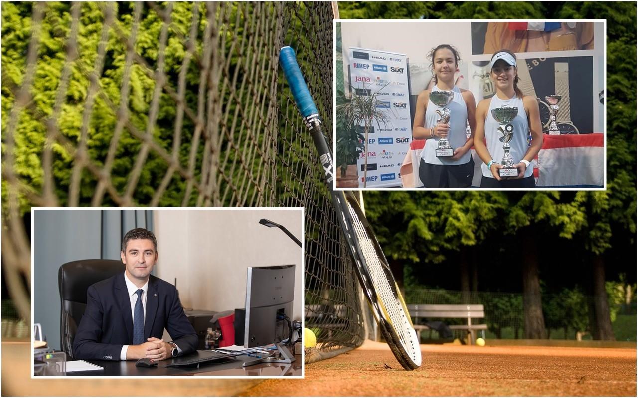 Čestitka Leticiji Tarocco za osvajanja državnog dvoranskog prvenstva u parovima