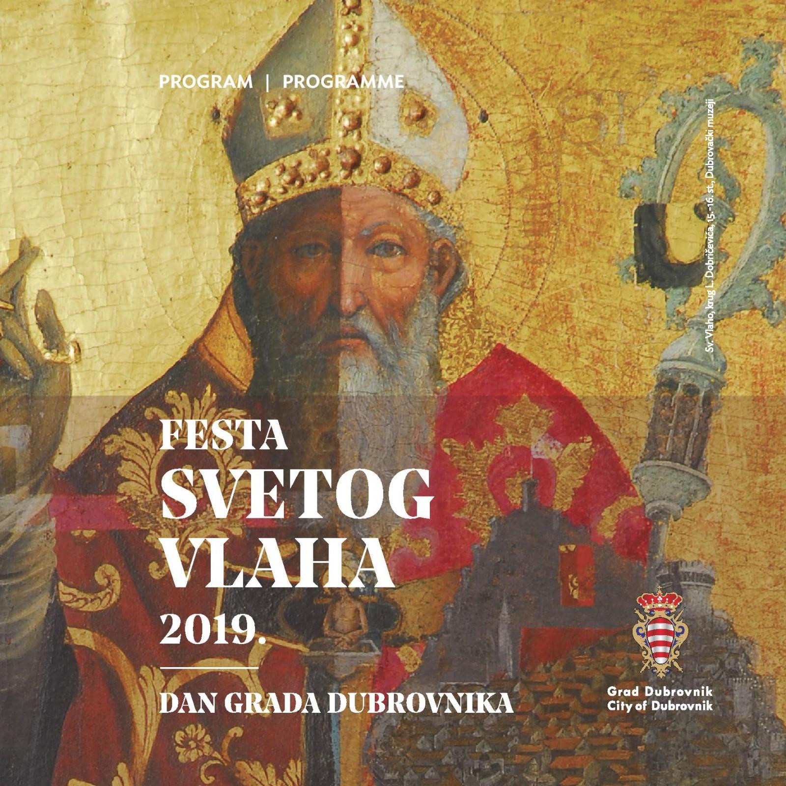 FESTA SVETOG VLAHA I DAN GRADA DUBROVNIKA 2019.