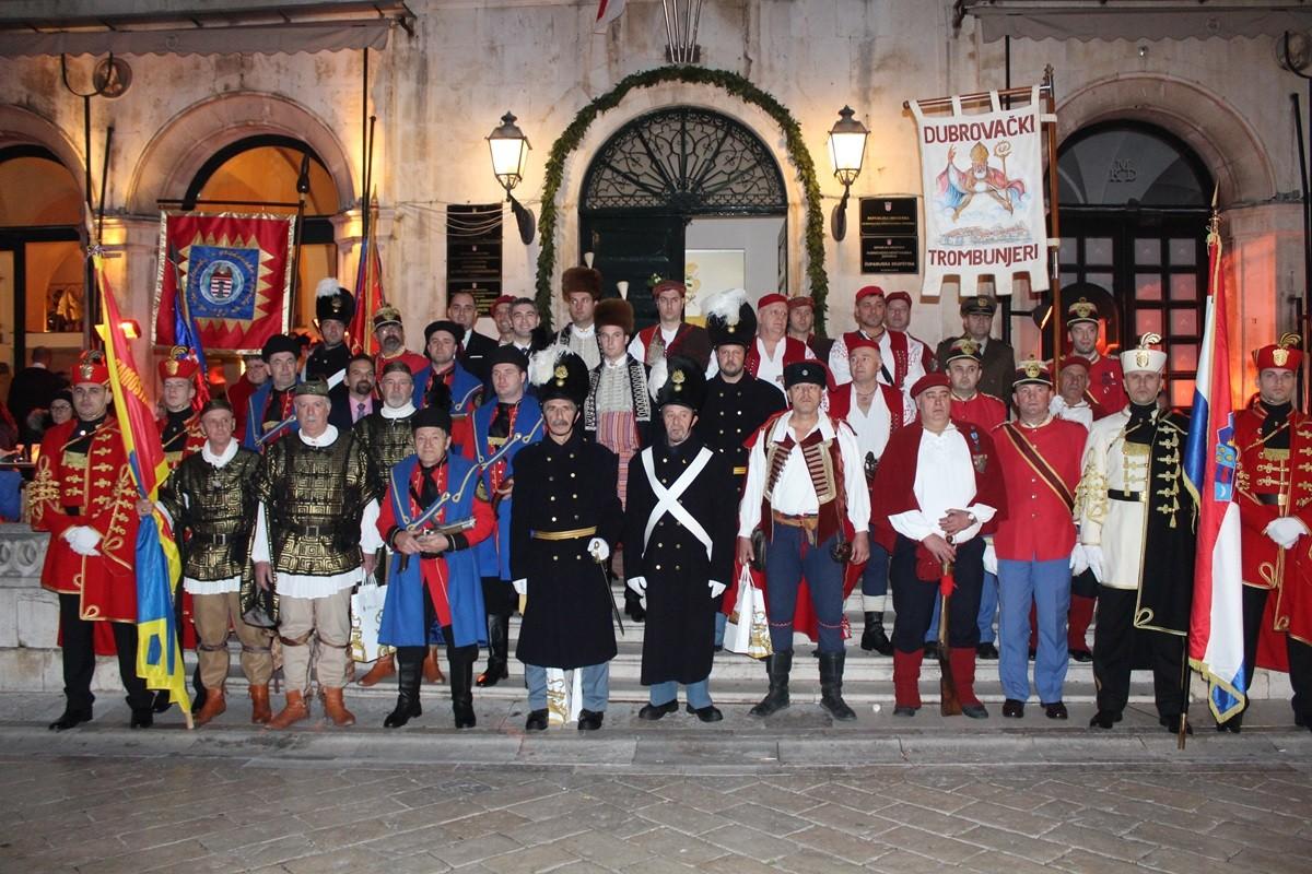 Gradonačelnik primio dubrovačke trombunjere i predstavnike povijesnih postrojbi
