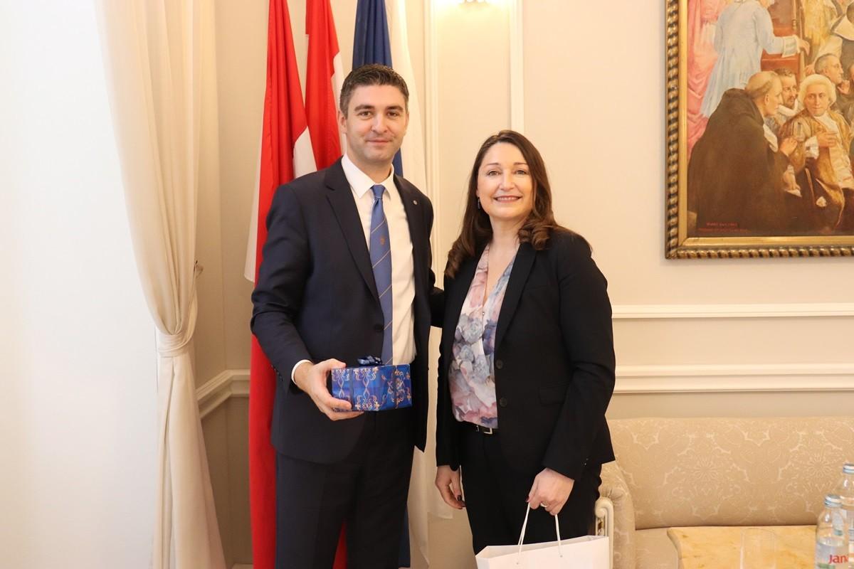 Gradonačelnik Franković primio veleposlanicu Kraljevine Švedske
