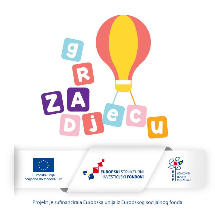 """˝Grad ZA djecu"""" - poboljšanje usluga i uvjeta za djecu u sustavu ranog i predškolskog odgoja i obrazovanja na području grada Dubrovnika"""