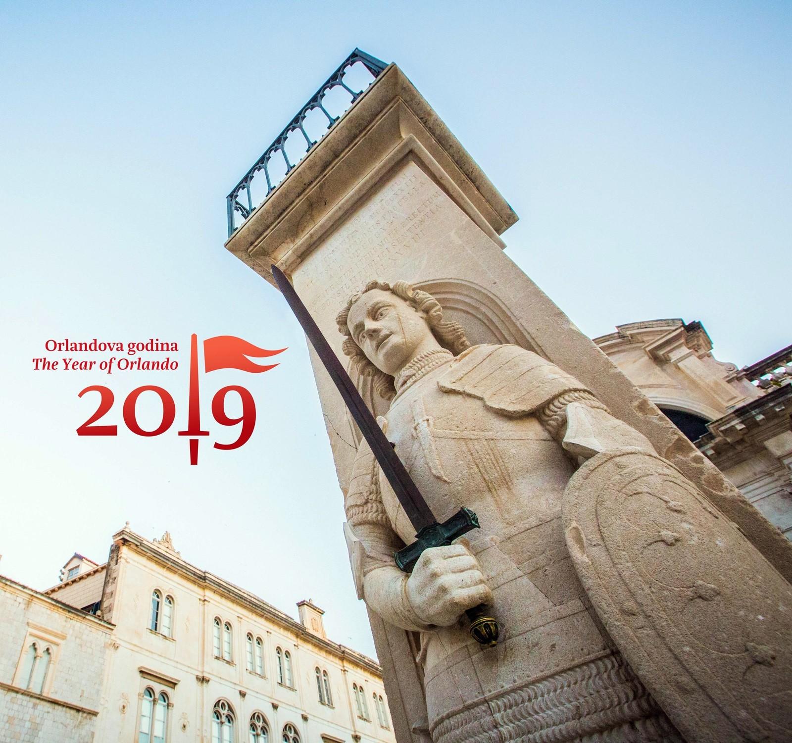 Orlandova godina prijavljena na dva kongresa povijesnih gradova