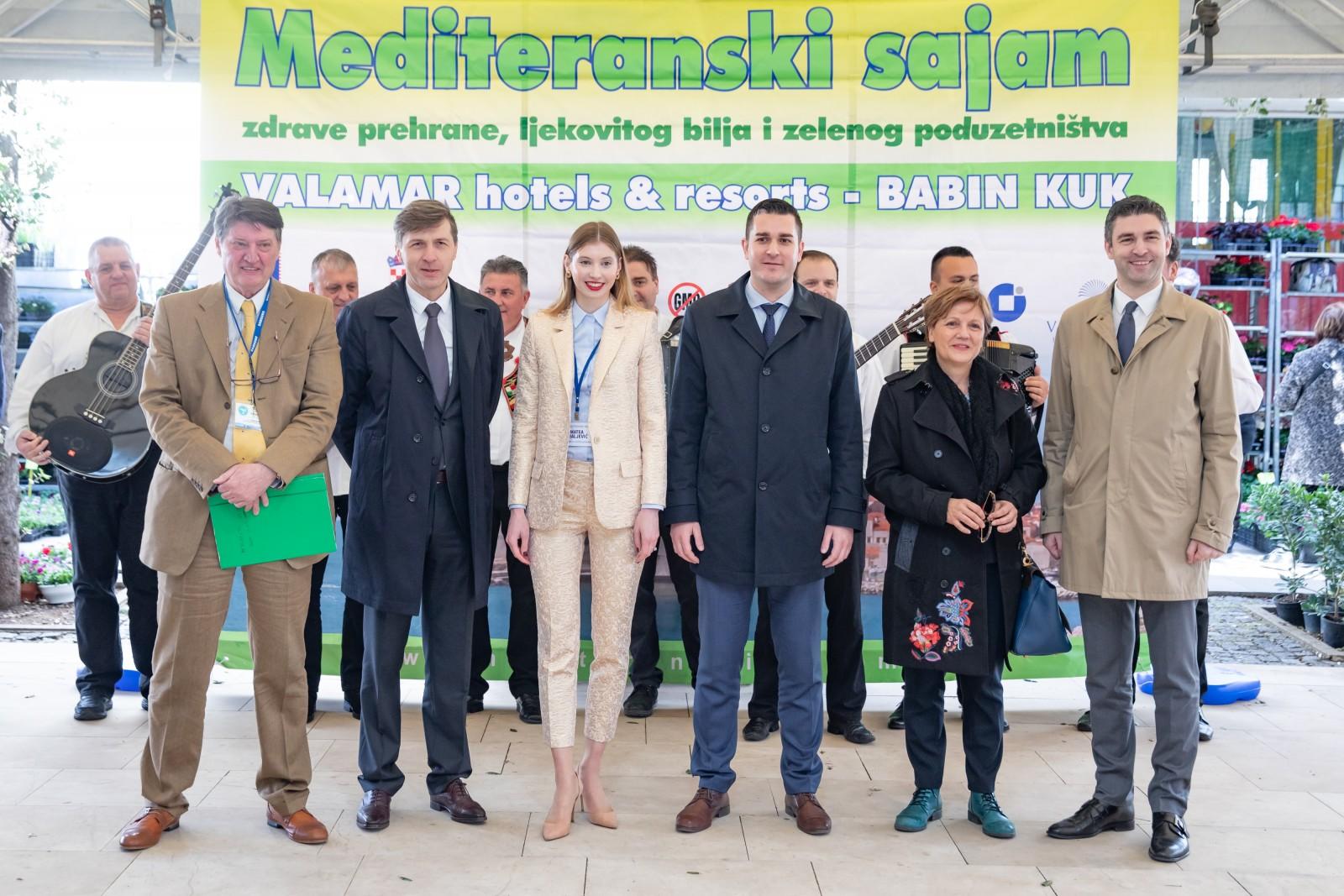 Gradonačelnik Franković otvorio 16. Mediteranski sajam zdrave prehrane, ljekovitog bilja i zelenog poduzetništva