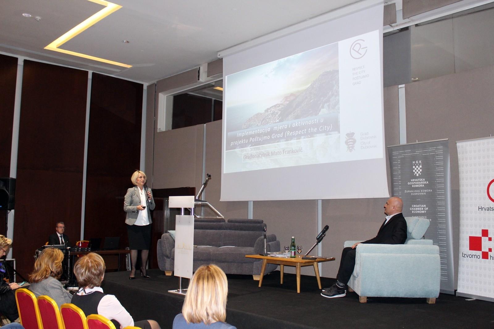 Zamjenica Tepšić prezentirala projekt Poštujmo Grad na 6. Forumu obiteljskog smještaja