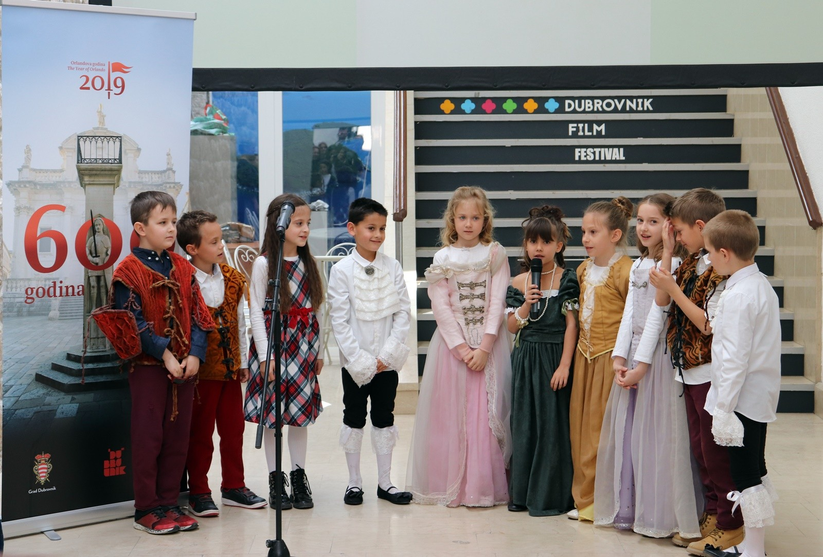 Vitez Orlando - glavni lik dječjih autorskih slikovnica i pjesmice