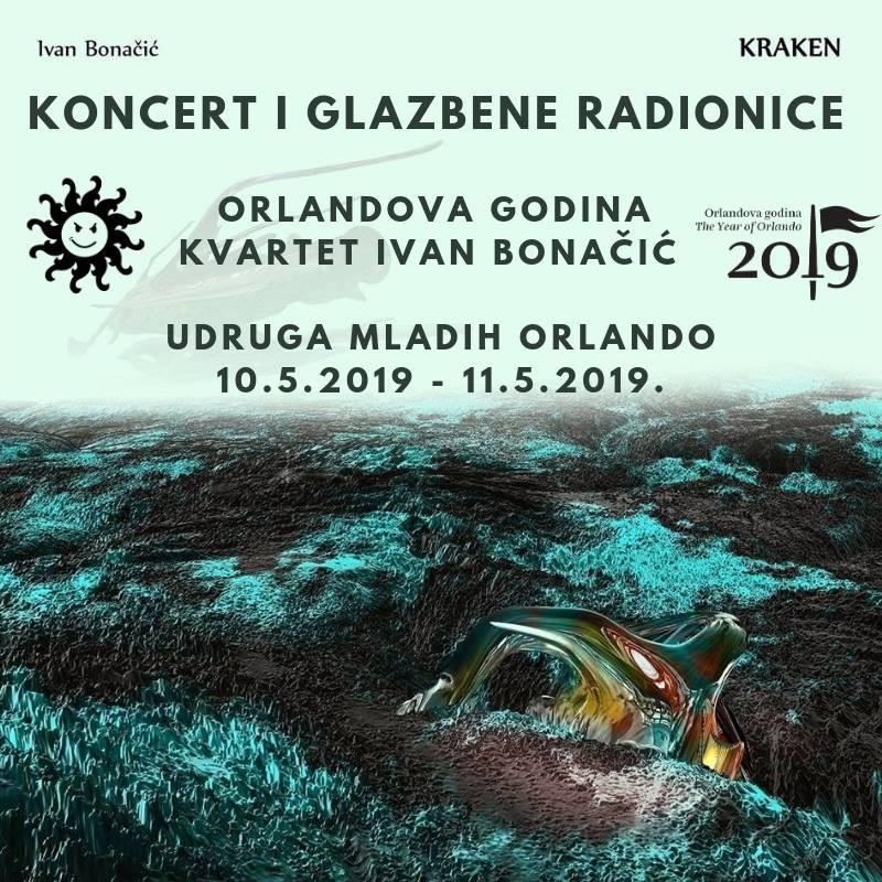 Koncert i glazbene radionice: Kvartet Ivan Bonačić