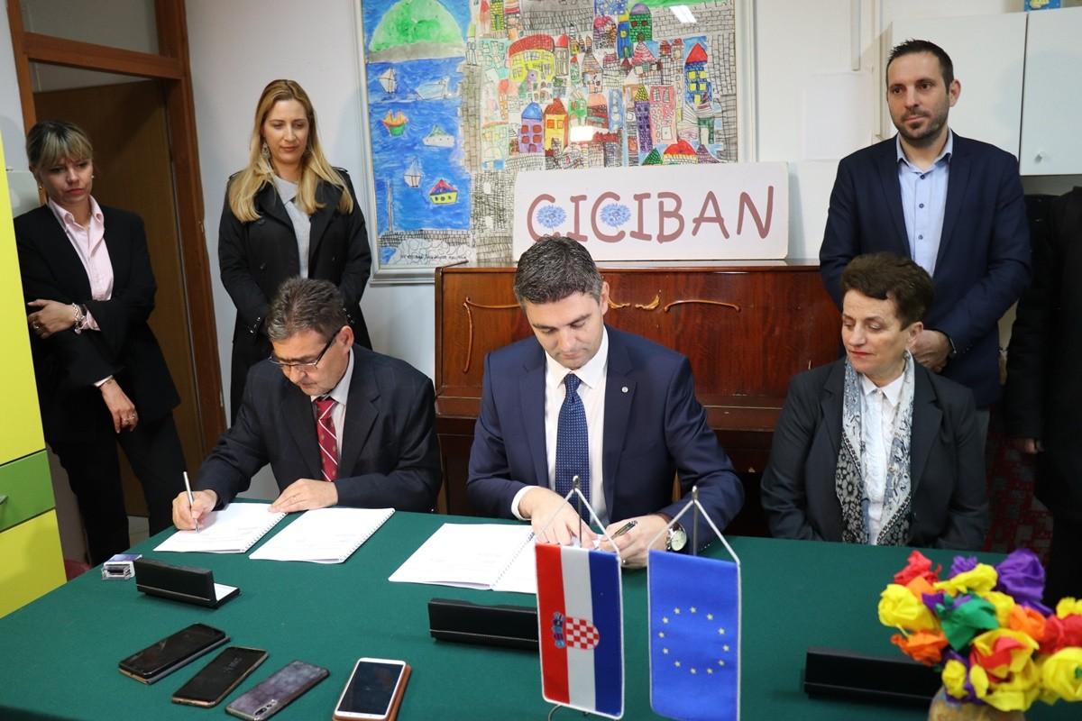 Potpisan ugovor za energetsku obnovu vrtića Ciciban