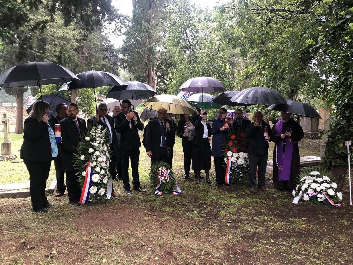 Položeni vijenci povodom Spomendana na žrtve Bleiburga i Križnog puta