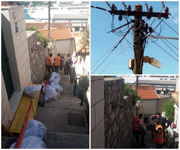 """Započelo """"ukopavanje"""" nadzemne mreže električne energije na gradskom području"""
