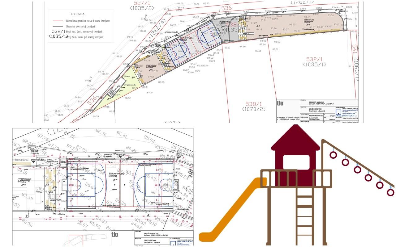 Pripremljen projekt za novo igralište na Babinom kuku s četiri zone