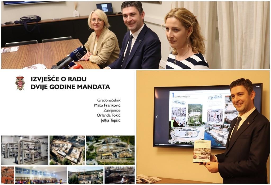Dvije godine mandata - predstavljeni brojni značajni projekti