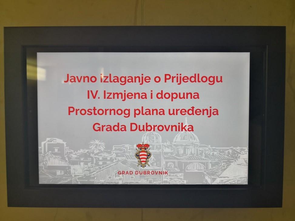 Održano javno izlaganje o Prijedlogu IV. Izmjena i dopuna PPU-a Grada Dubrovnika