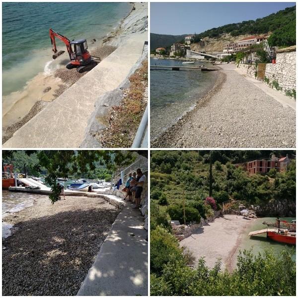 Uređene plaže u Zatonu, Suđurđu i na Koločepu