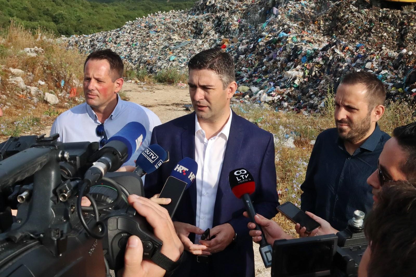 Započeli radovi na sanaciji odlagališta otpada Grabovica