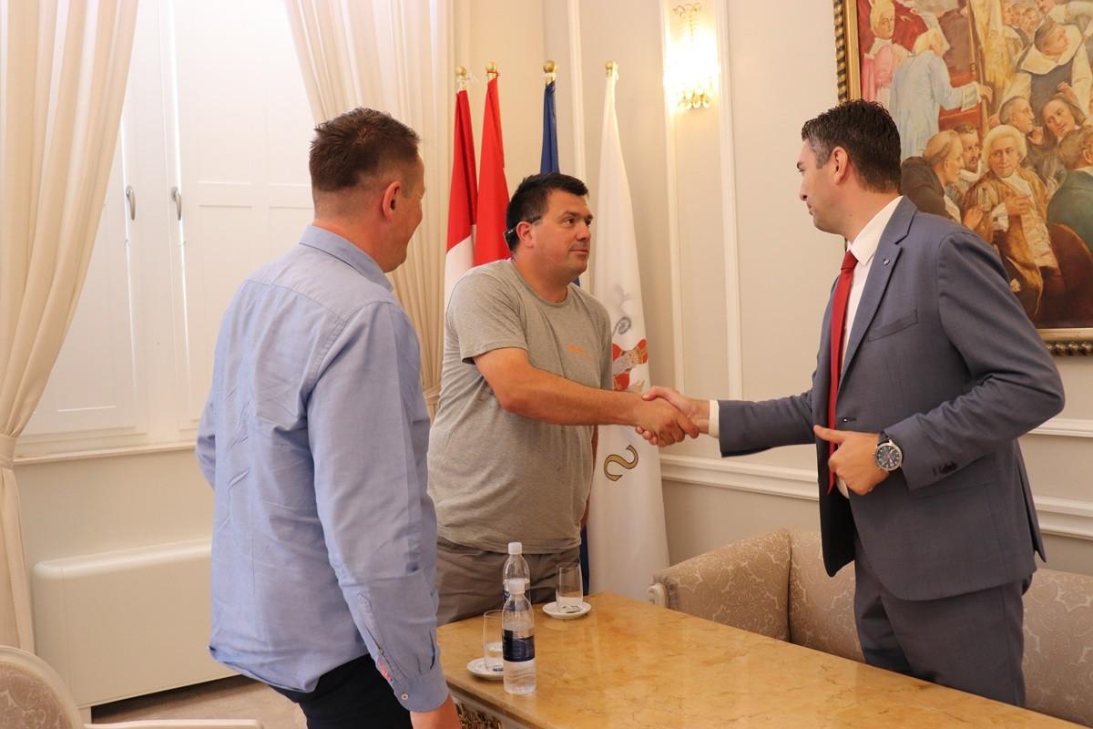 Gradonačelnik primio djelatnika Mimicu