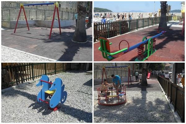 Uređeno dječje igralište na Lopudu