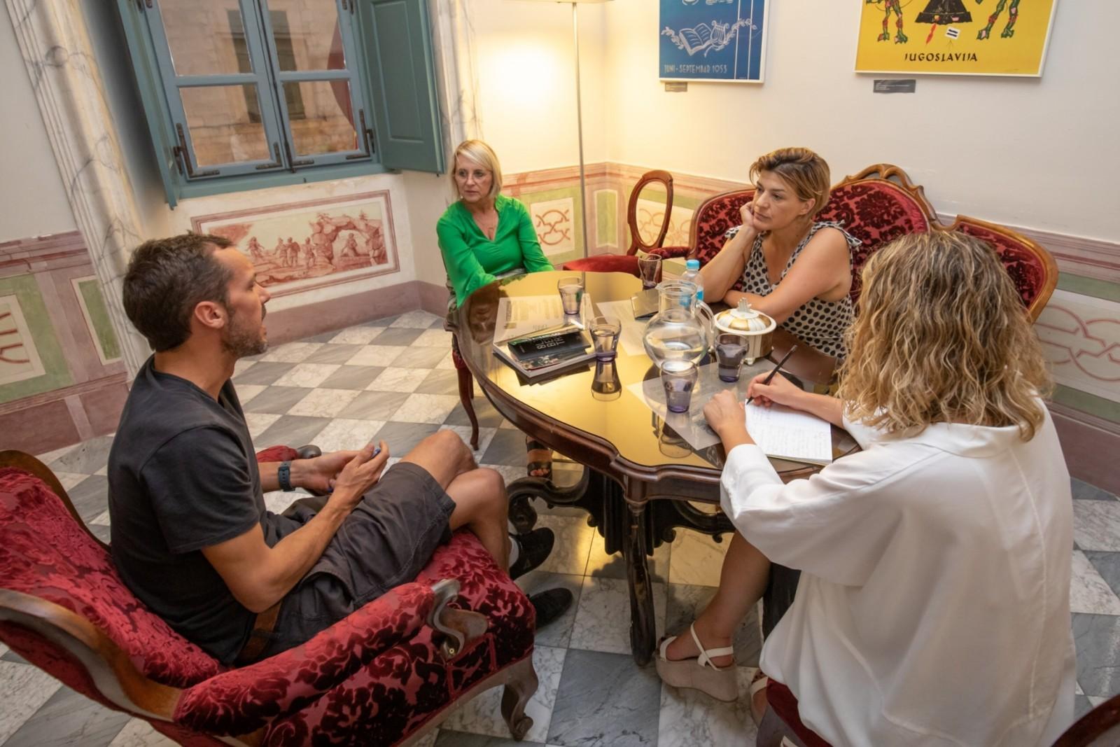 Mogućnost suradnje Dubrovačkih ljetnih igara i francuskog Centra za nacionalne spomenike