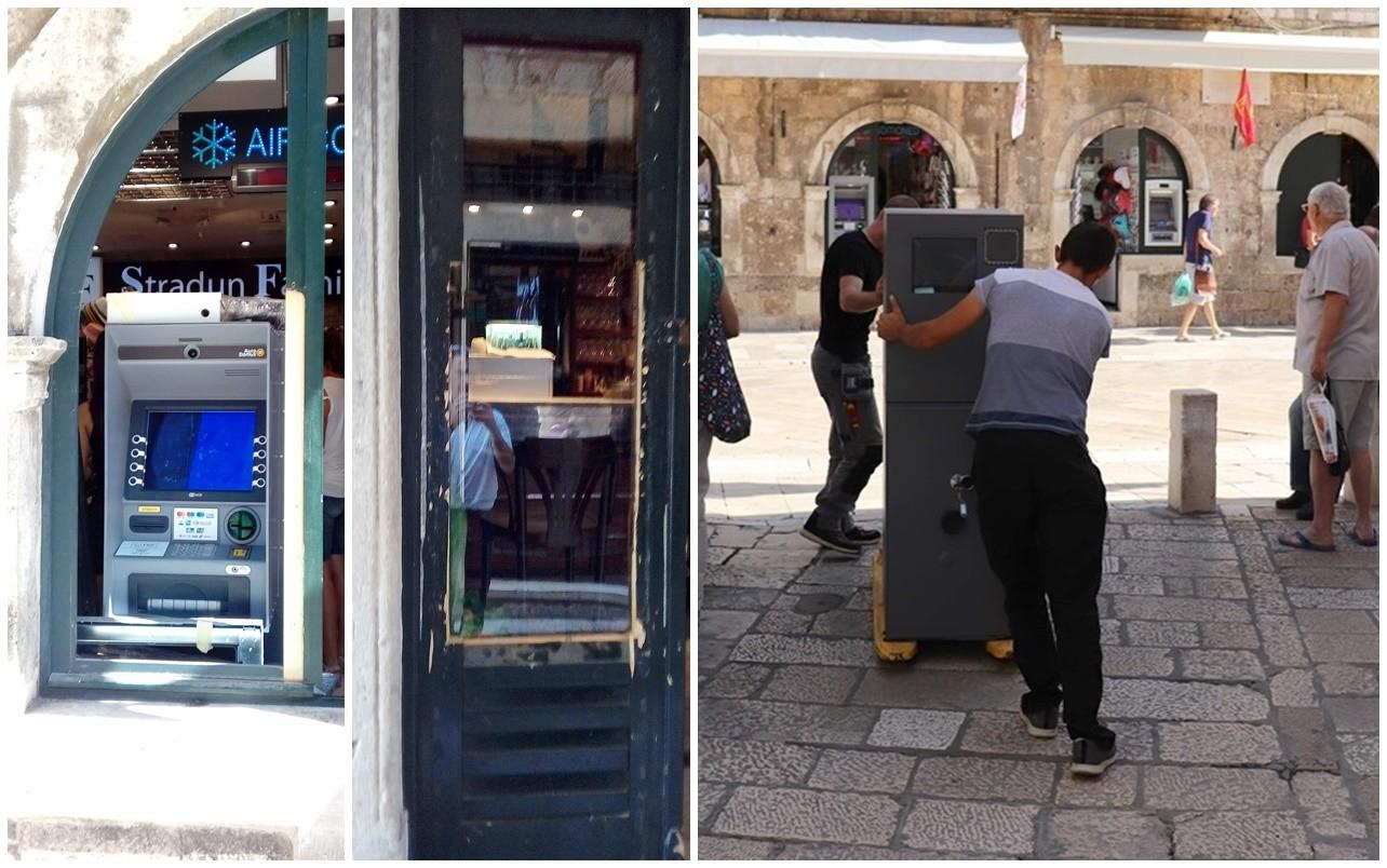 Još dva bankomata odlaze iz povijesne jezgre