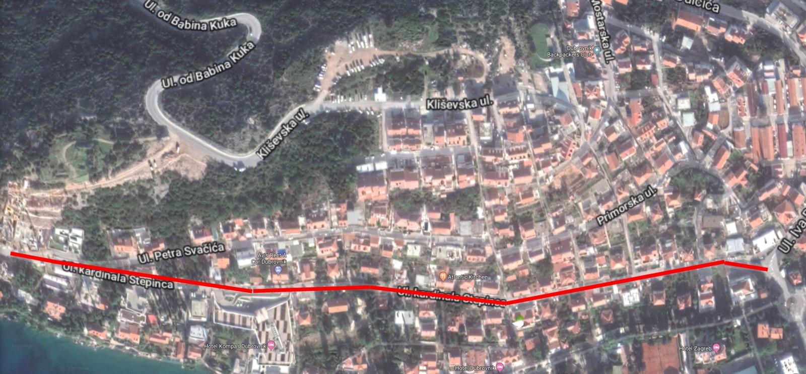 Raspisana javna nabava za projekt rekonstrukcije Ulice kardinala Stepinca