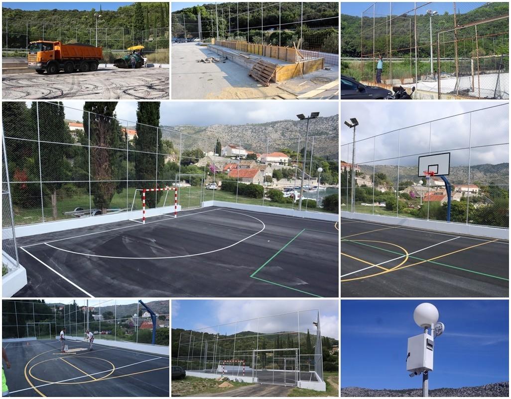Obnovljen sportski teren u Zatonu