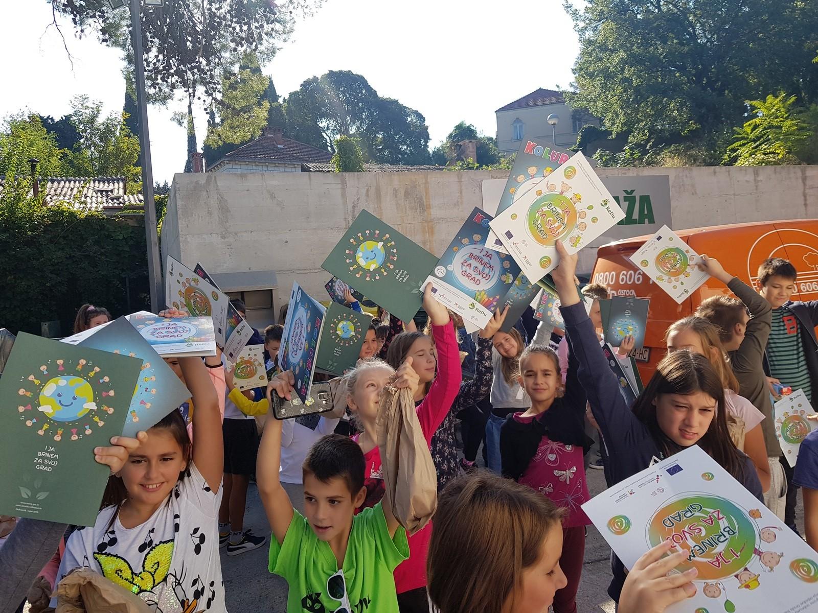 Projekt ReDu – učenici obišli Grabovicu i reciklažno dvorište