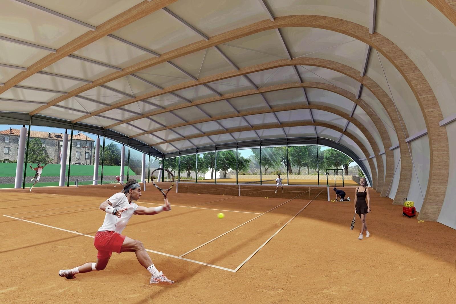 Pokrenuta javna nabava za izgradnju tenis dvorane u Lapadu
