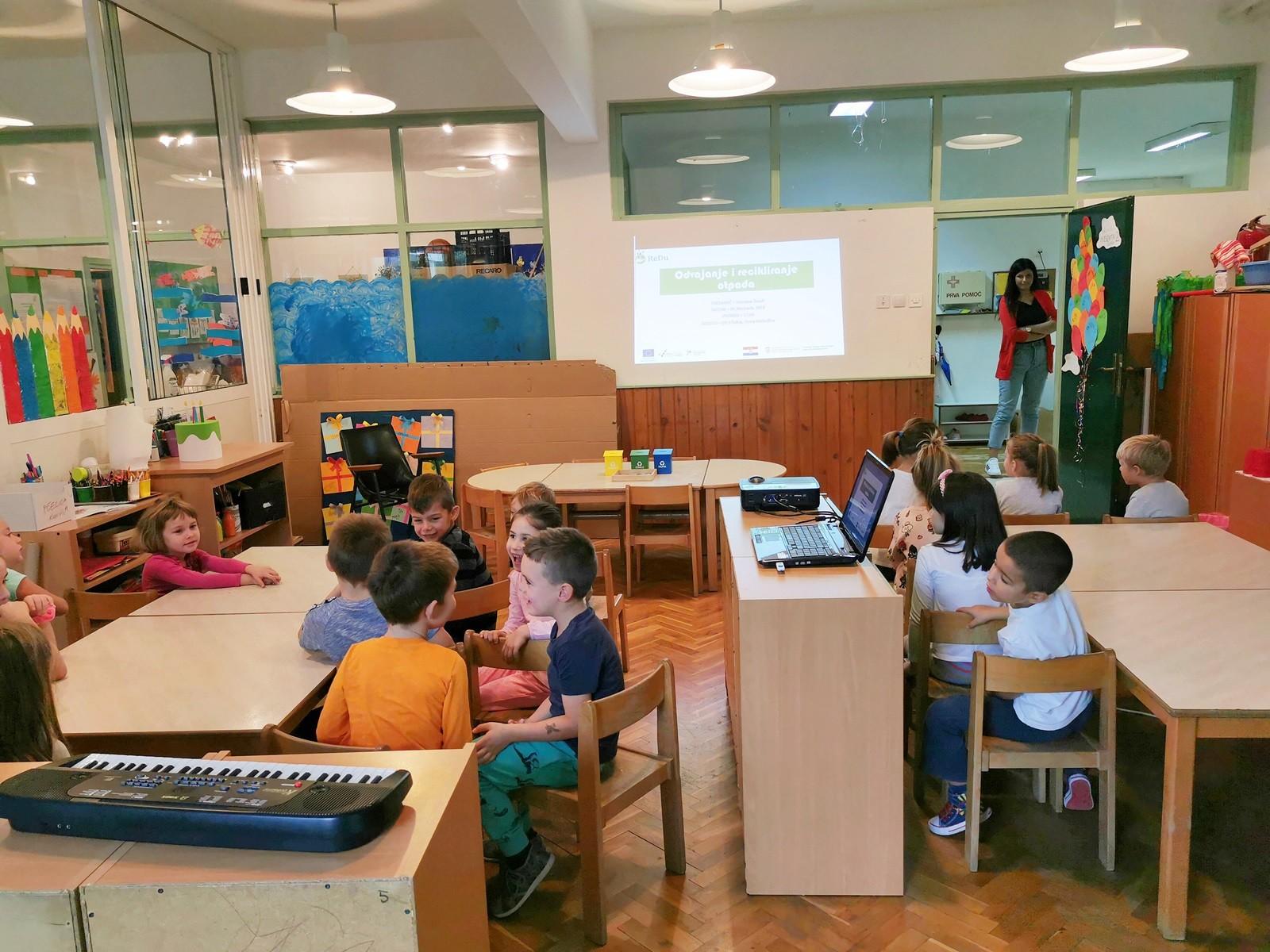 Projekt ReDu - održane radionice za djecu