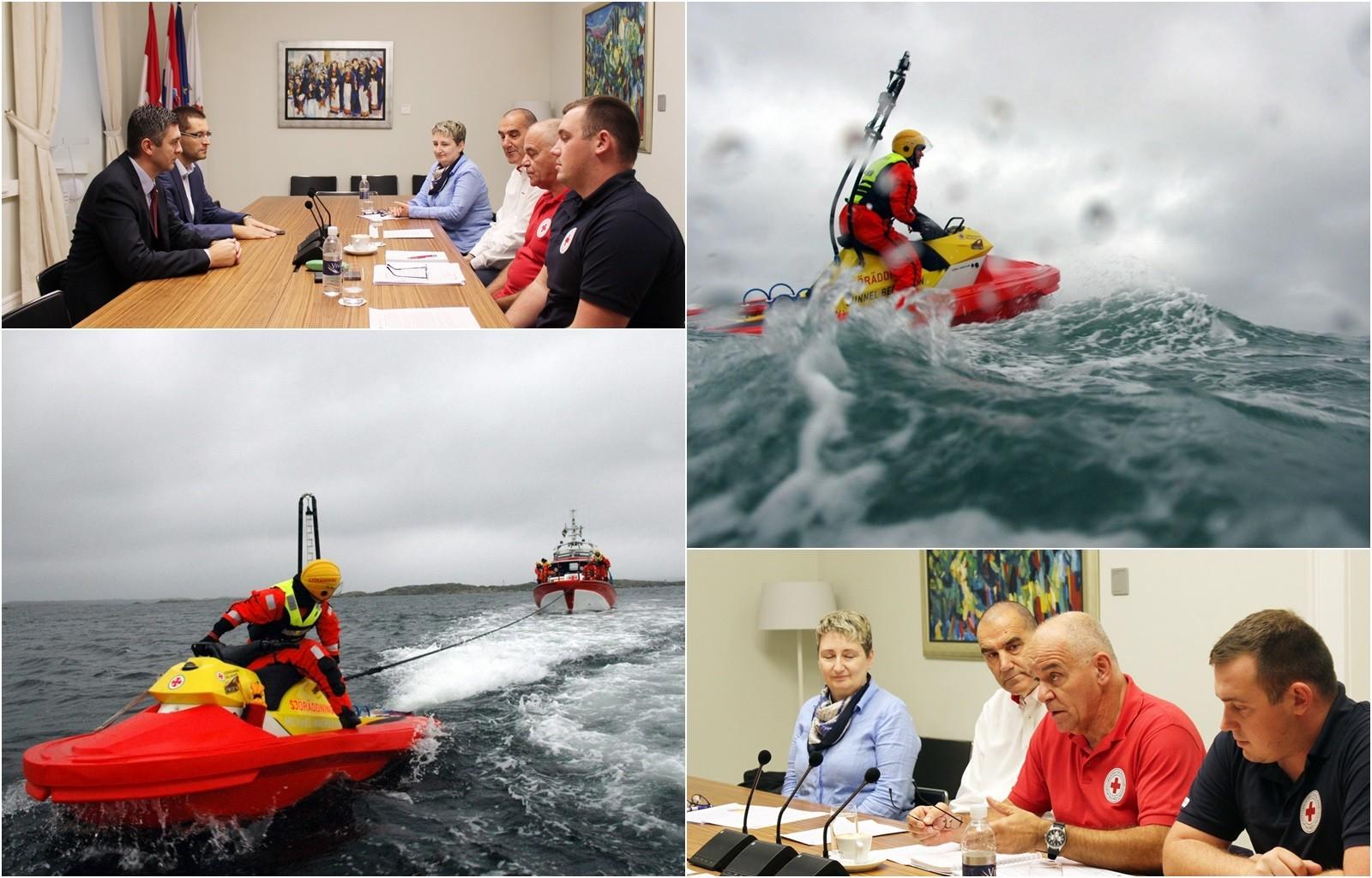 Grad će financirati nabavku skutera za potragu i spašavanje na moru dubrovačkog Crvenog križa