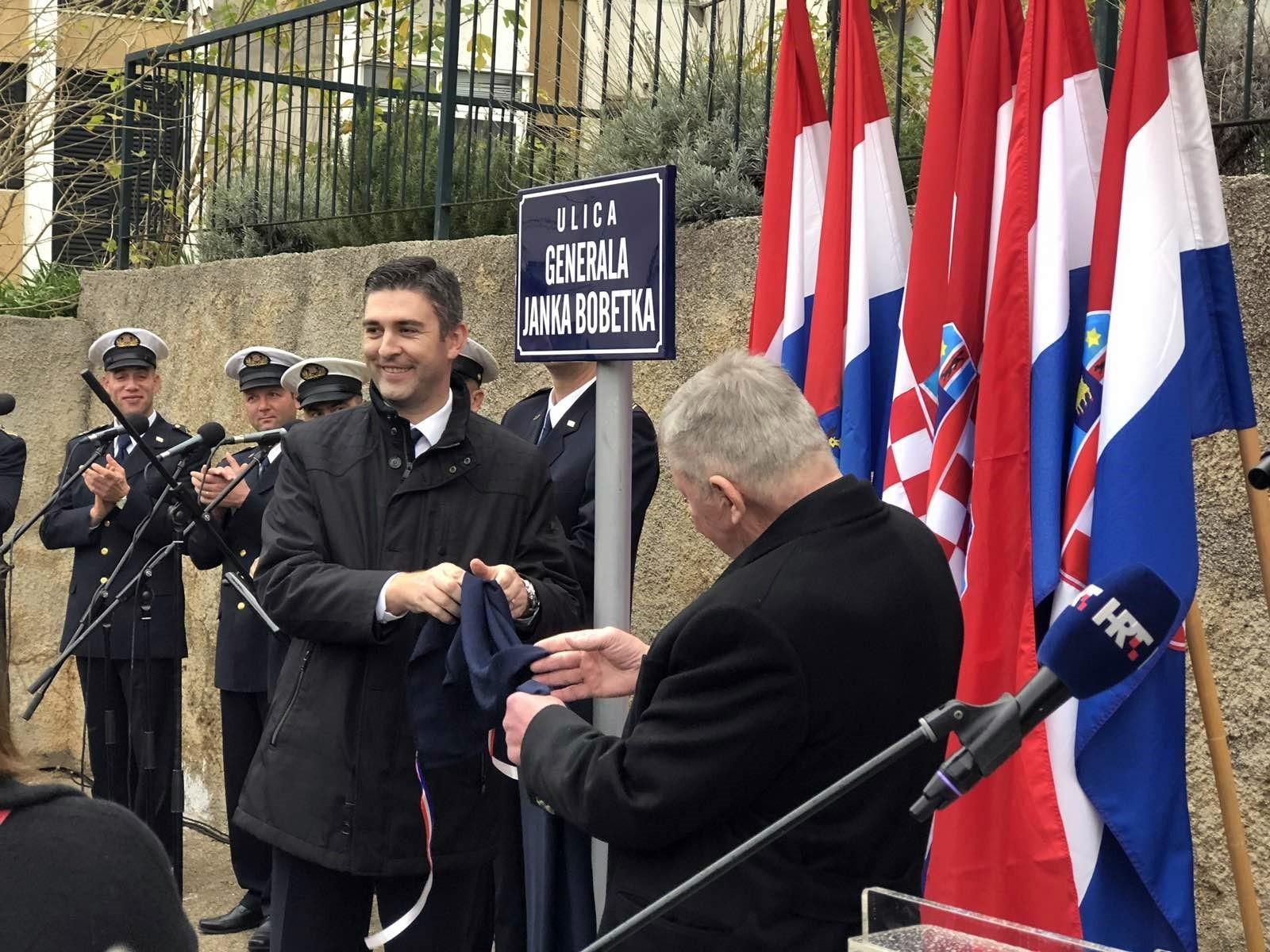 Otvorena Ulica generala Janka Bobetka, Dubrovnik se zahvalio velikom hrvatskom sinu