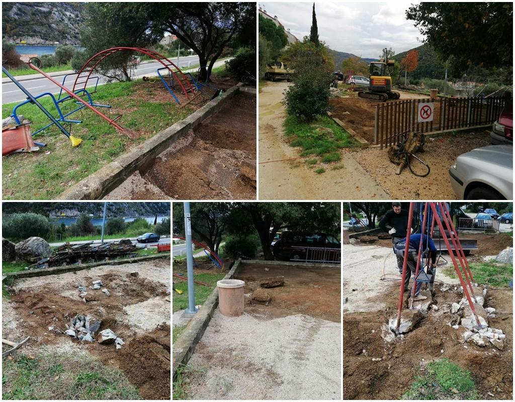 Započela obnova dječjeg igrališta u Novoj Mokošici