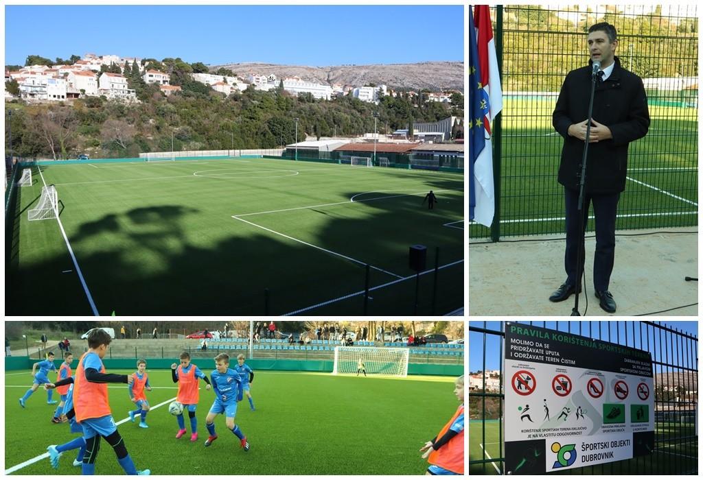 Otvoreno novouređeno nogometno igralište u Gospinom polju