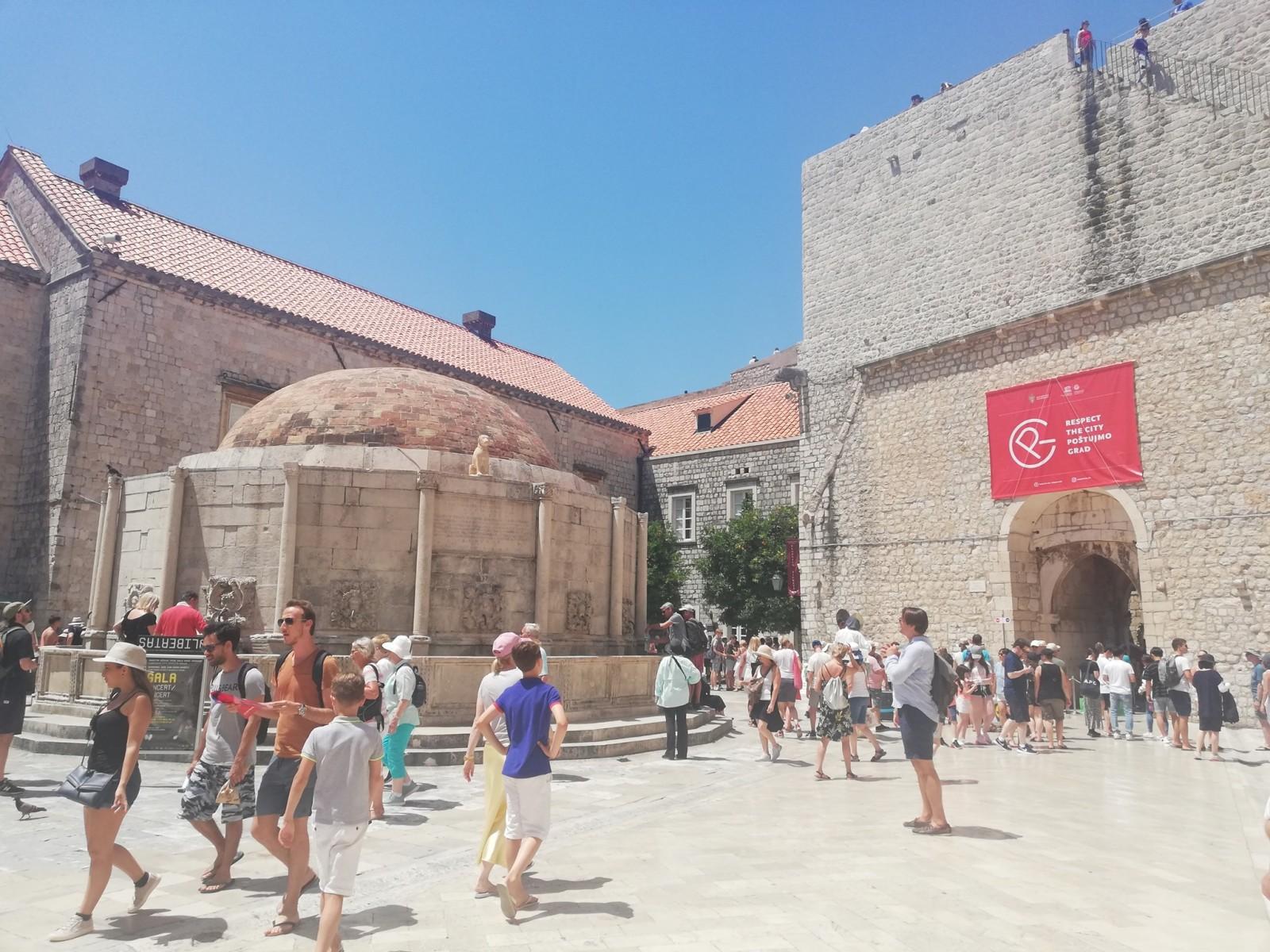 Odluka o visini turističke pristojbe za 2021. godinu (za Grad Dubrovnik) - Obavijest