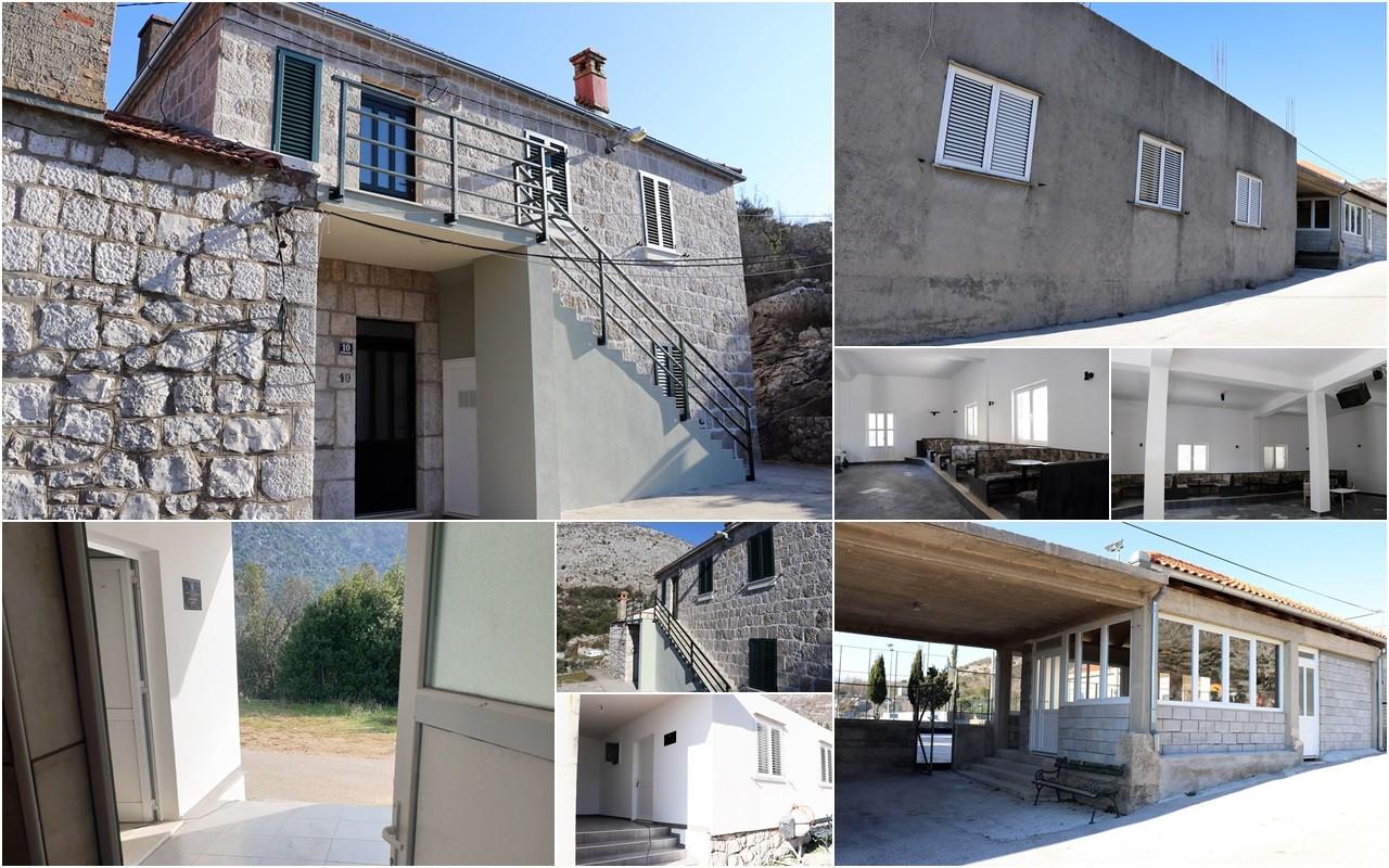 Obnovljeni društveni domovi na Gromači, u Ljupču i Mravinjcu