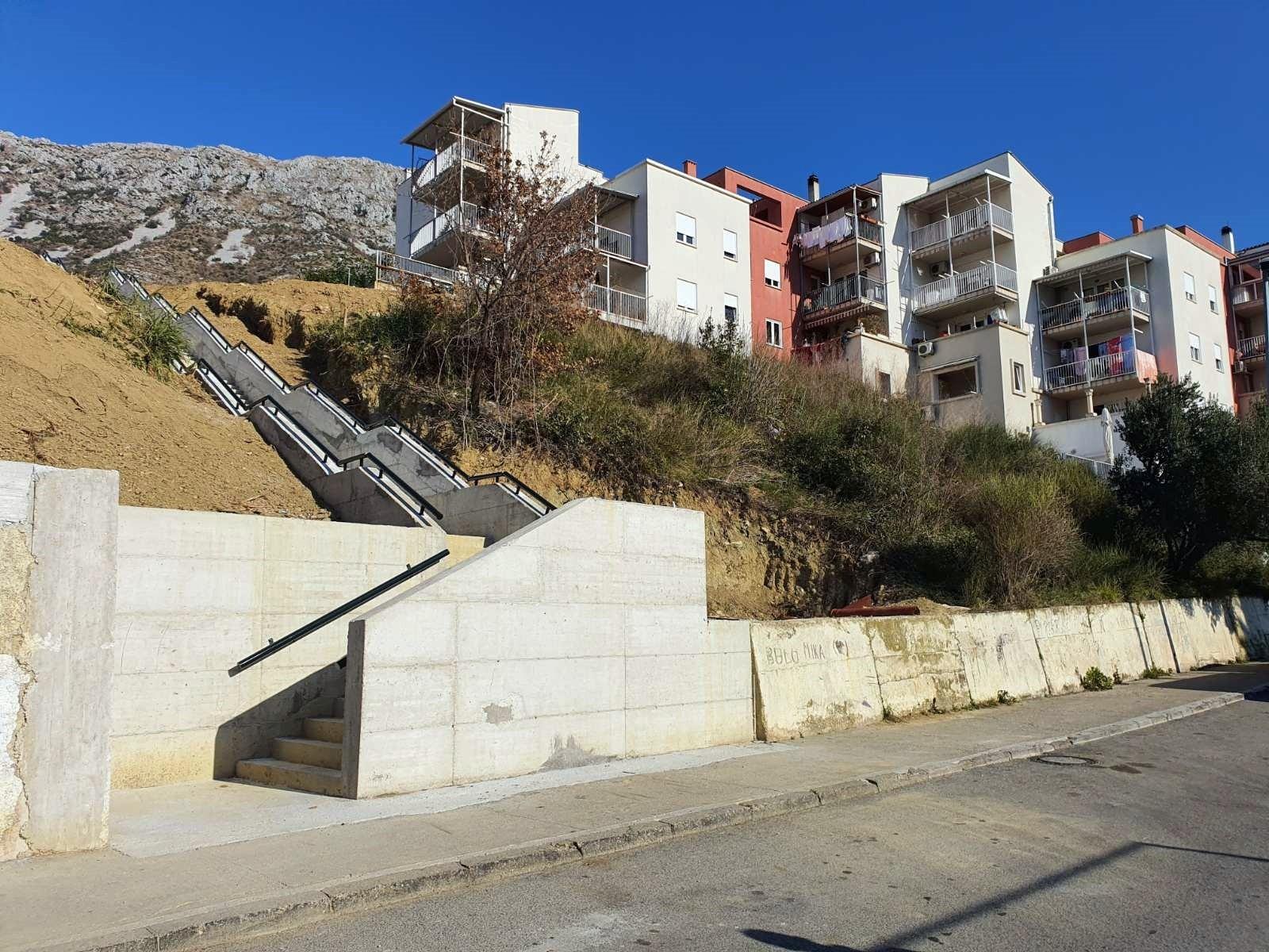 Završena izgradnja skalina kod POS-a I u Mokošici