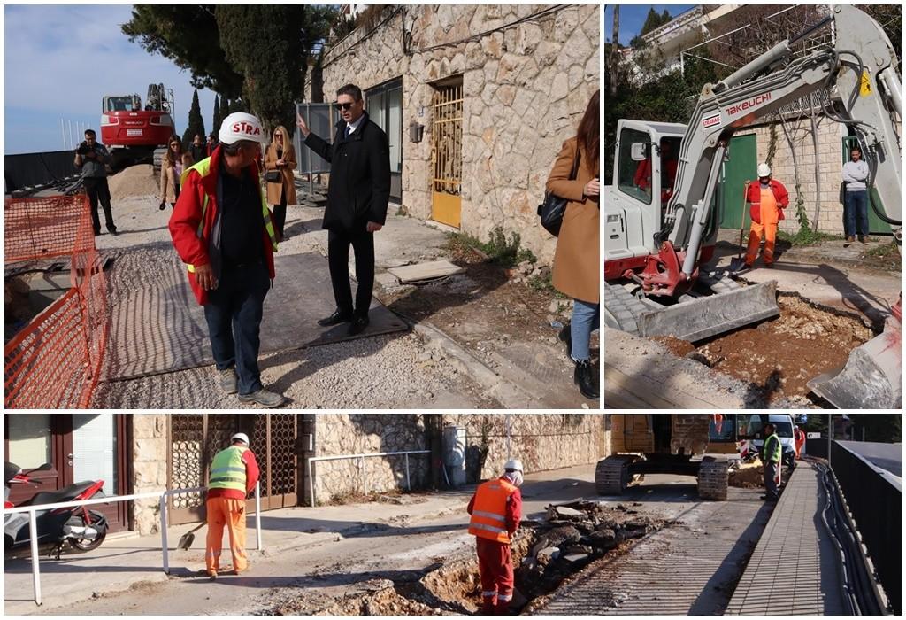 Gradonačelnik obišao radove u Ulici kardinala Stepinca