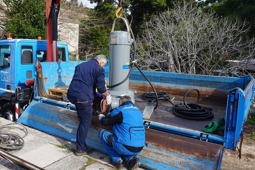 Nakon Pila Vodovod zamijenio pumpu i na Batali