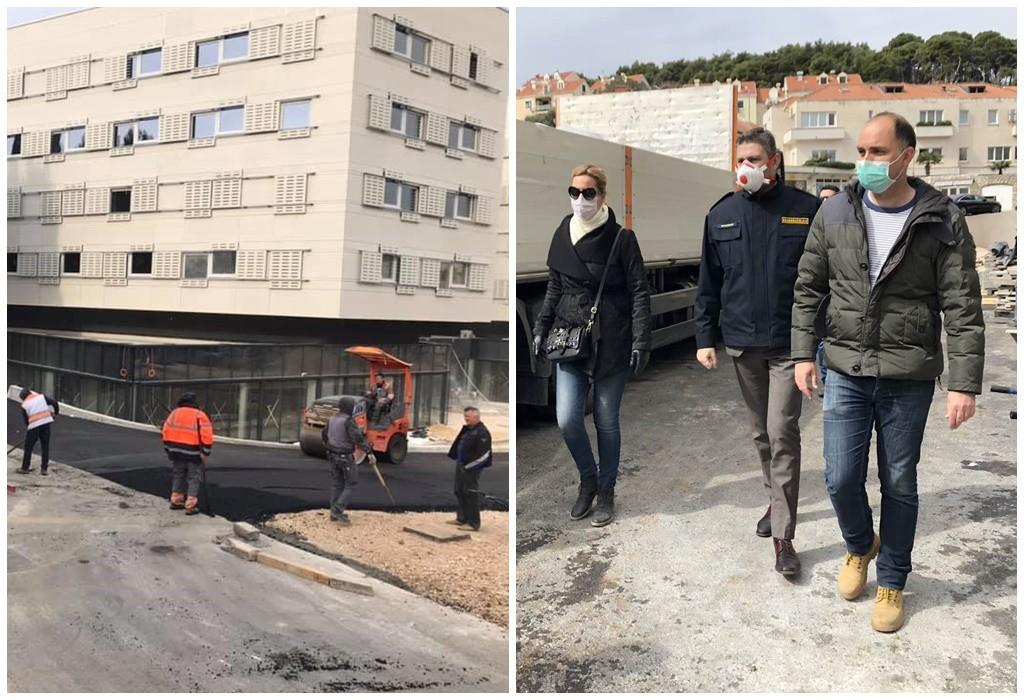 Studentski dom uskoro spreman za slučaj potrebe Opće bolnice Dubrovnik