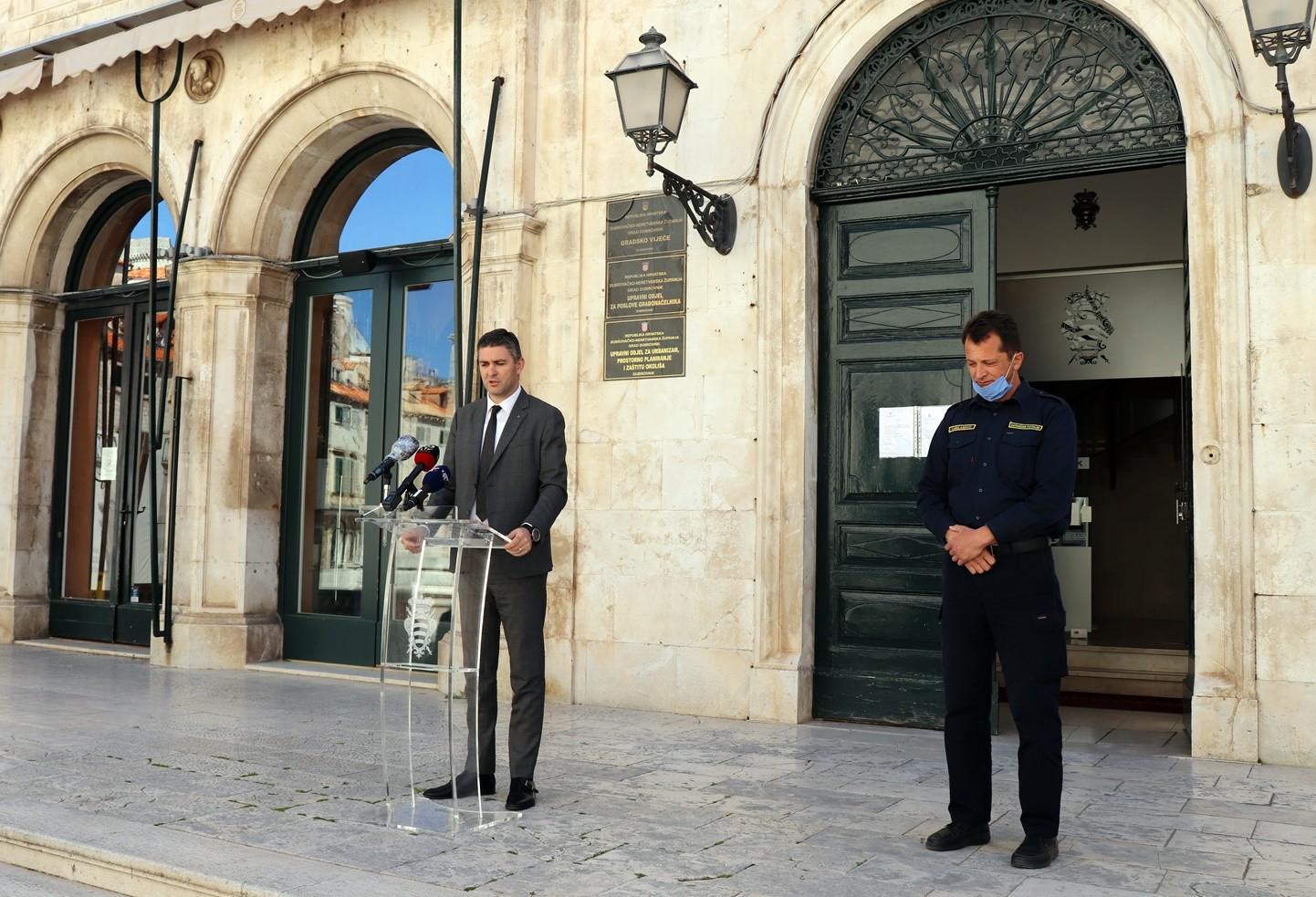 Gradonačelnik Franković i načelnik CZ Krilanović pozvali  na suživot s pripadnicima civilne zaštite