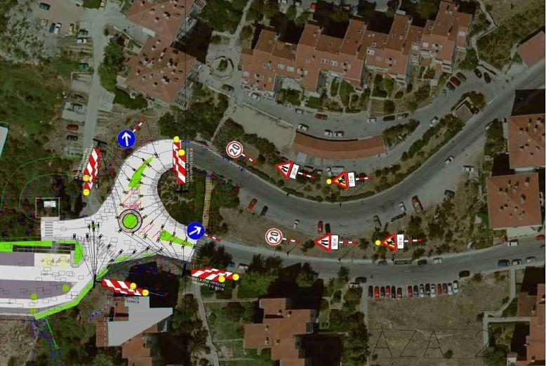 Privremena regulacija prometa u Mokošici