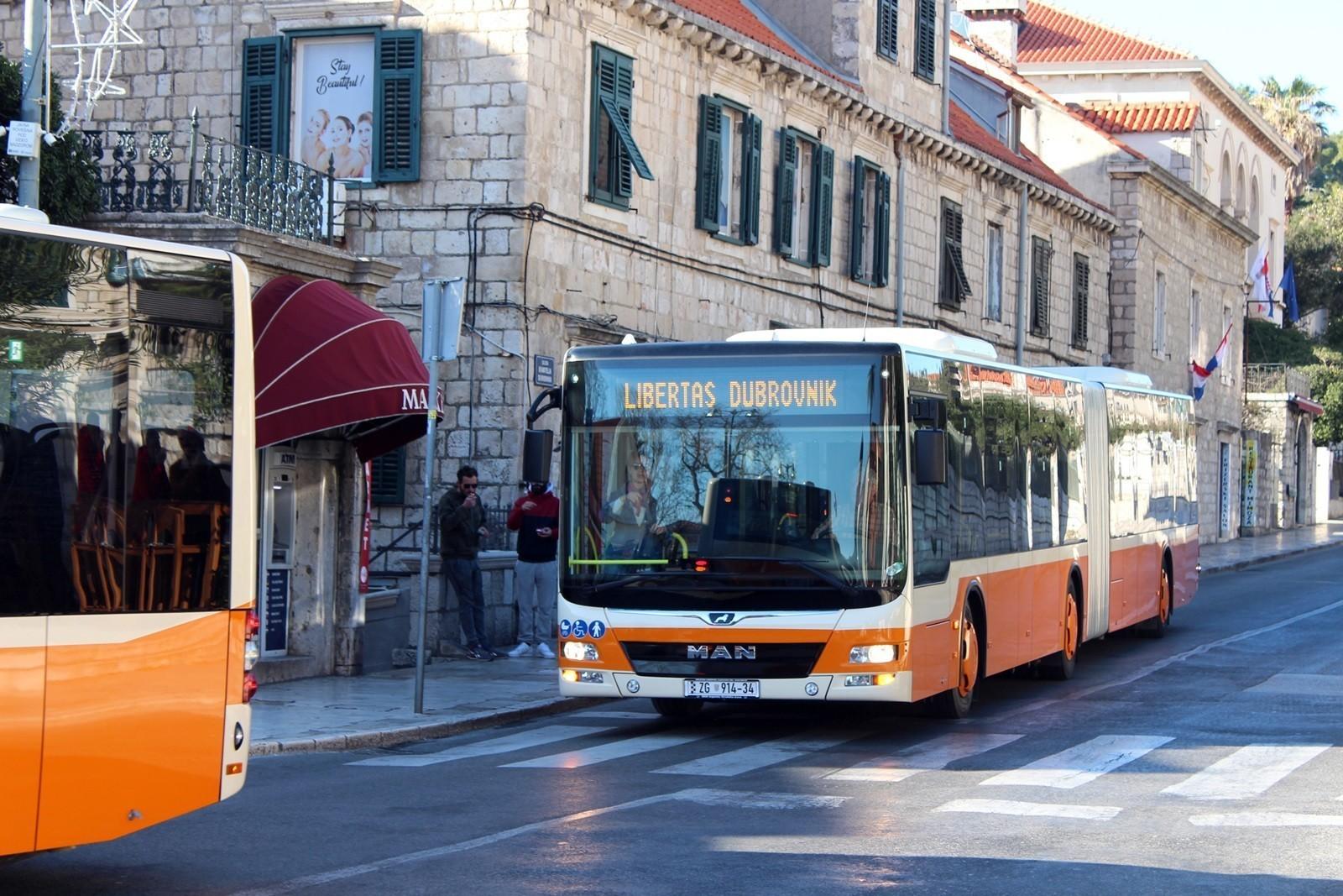 Libertas postupno uspostavlja javni gradski prijevoz