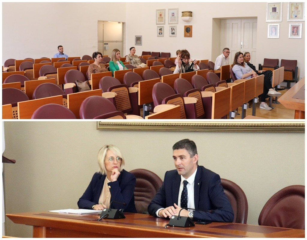 Gradonačelnik Franković se sastao s predstavnicima turističkih vodiča