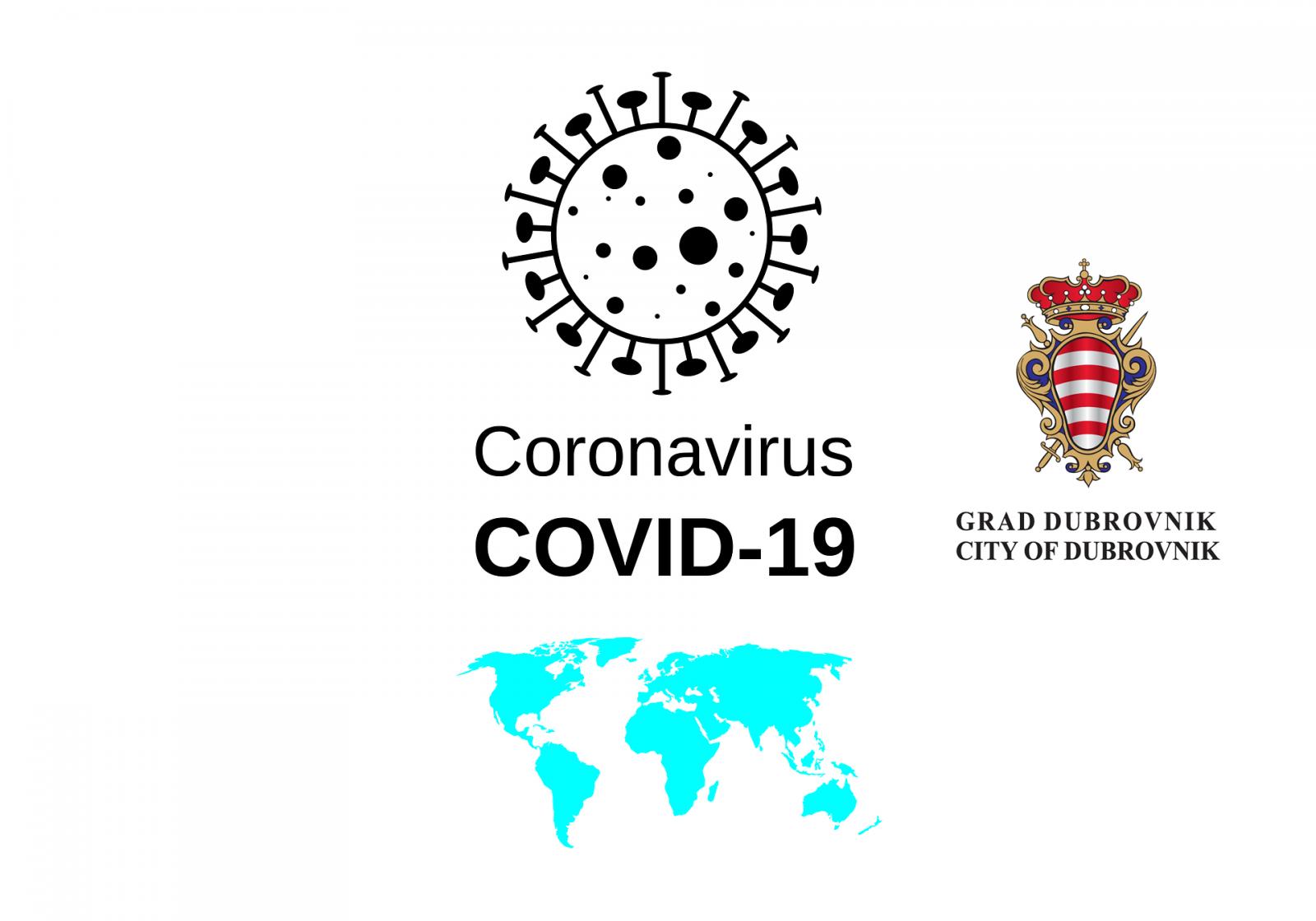 Grad Dubrovnik prijavio 3,3 milijuna kuna za sufinanciranje troškova nastalih uslijed pandemije koronavirusa