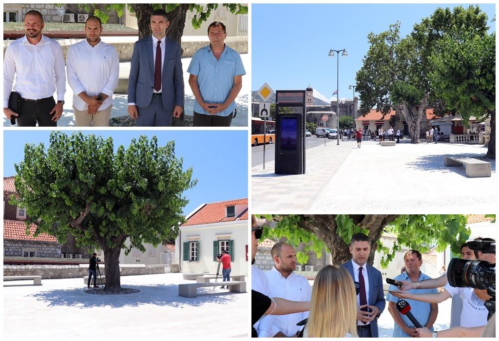 Gradonačelnik Franković obišao novouređeni plato Pile