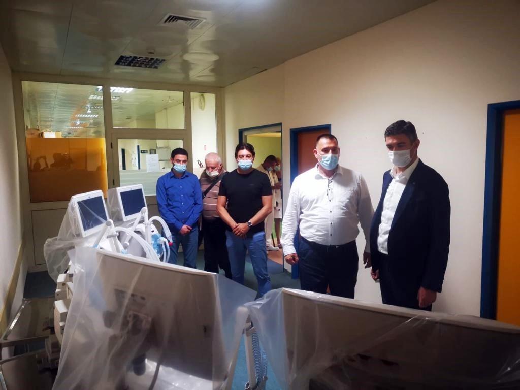 Donacijom Grada nabavljena četiri nova respiratora za Opću bolnicu, sad ih je ukupno 15