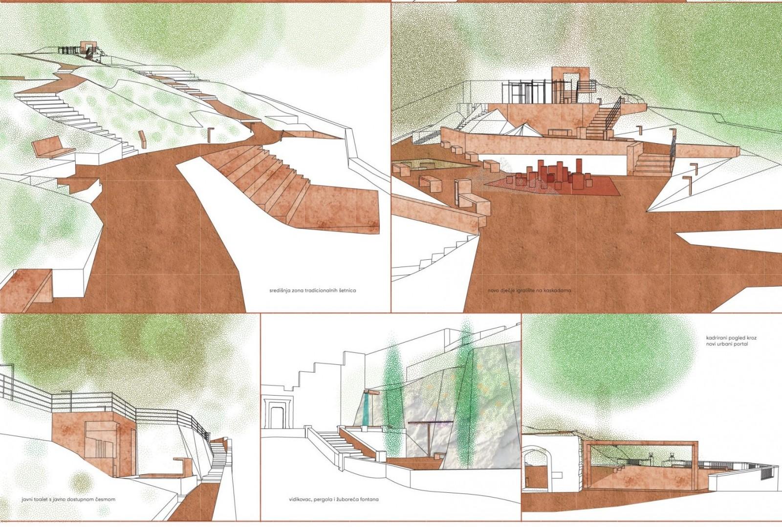 Završen natječaj za izradu idejnog urbanističko-arhitektonsko-krajobraznog rješenja Parka Gradac, izabran pobjednički rad