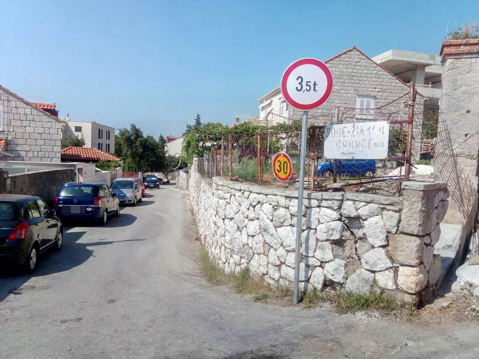 Grad Dubrovnik o poduzetim radnjama vezano uz Solinsku ulicu
