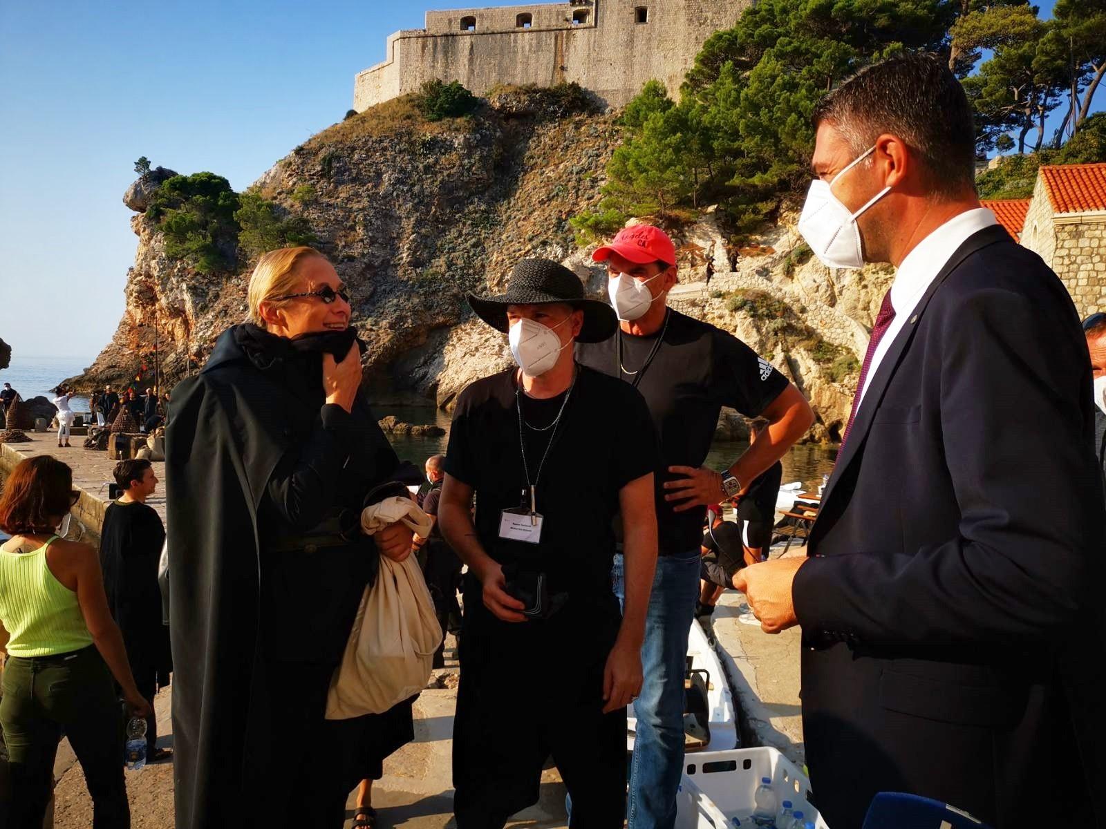 Gradonačelnik u Pilama posjetio filmsku ekipu
