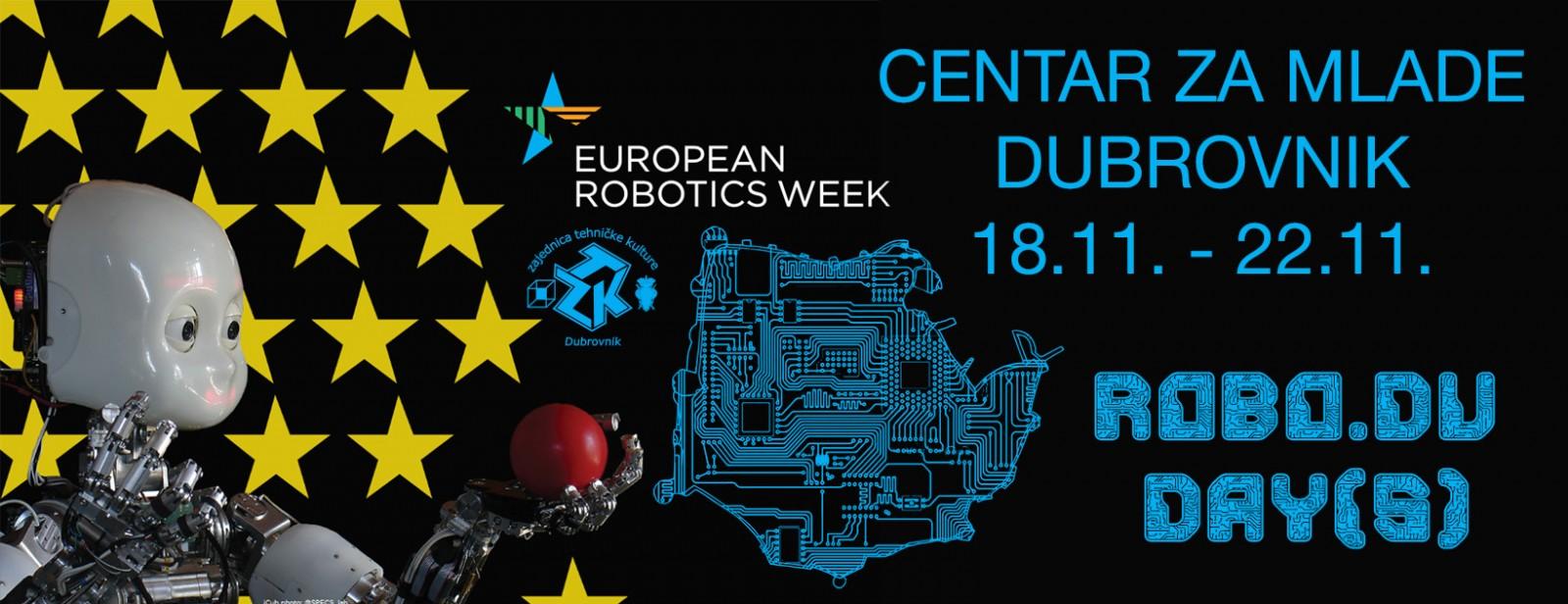 Počinje petodnevno obilježavanje Europskog tjedna robotike u Centru za mlade Dubrovnik