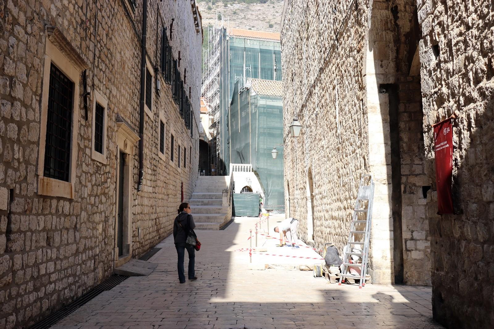 Zatvaranje Ulice svetog Dominika za promet